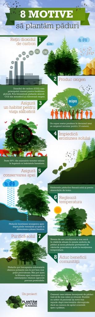 infografic utilitate paduri